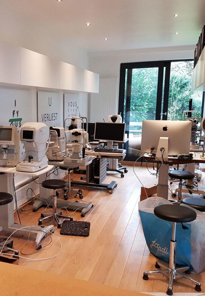 Examen ophtalmologique et test à Bruxelles