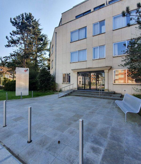 Centre médical des nations à Bruxelles - Medinations entrée